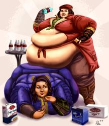 Piper and Blue, Commonwealth Gluttons by Ray-Norr