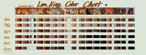 Lion King Colors by Androsanity