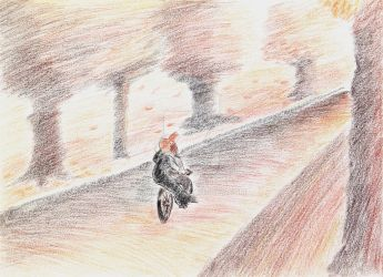 Riding pillion by mabho