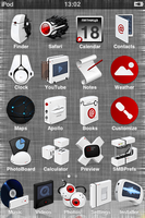 Amora theme Iphone by ZwhiteshadowZ