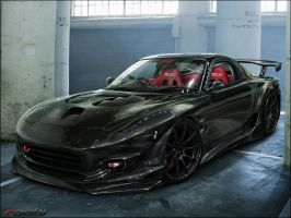 Mazda RX7 by roobi