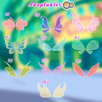 Magic winx - wings - Adoptables - Closed by starfirerencarnacion
