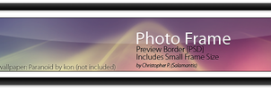 :Preview Border: Photo Frame by salamence502