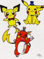 The Evolution of Fancy-chu by Blue3Vampire