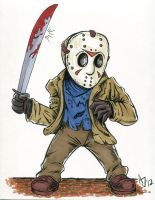 Jason Voorhees: Colored by AtlantaJones