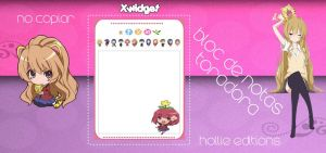 bloc de notas xwidget by hollie-editions