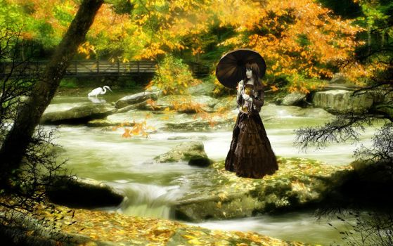 As Autumn Fades 3 by welshdragon