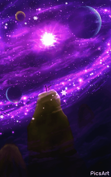 (GIF) Power of the Cosmos by GrowLegends