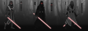 Random Sith or Dark Jedi concept art by ThamuzMartu