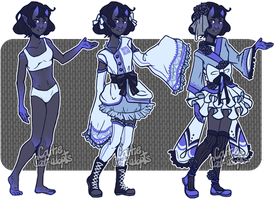 [closed] Adopt- Majorelle Blue by caitiecat-adopts