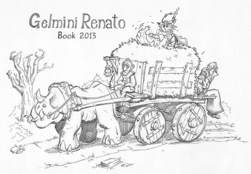 Cover - Book 2013 by RennyManJr