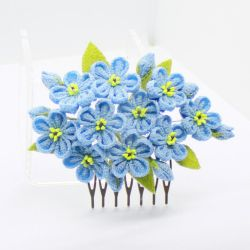 Forget-me-not Comb by Arleen