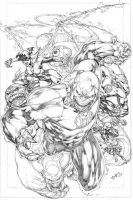 Cover Red Lantern 01 by Ed-Benes-Studio