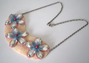 First Blush Necklace by RetroRevivalBoutique