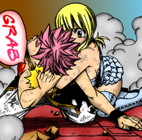 Fairy Tail - Natsu and Lucy by Nika1
