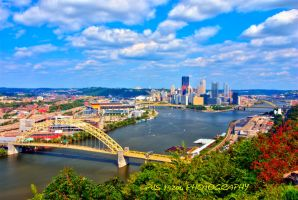 Pittsburgh Pennsylvania HDR by pjs15204