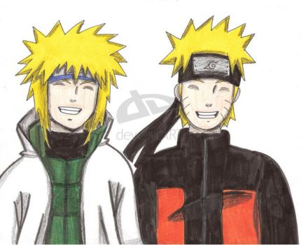 Just like his father by Yondaime-x-Naruto