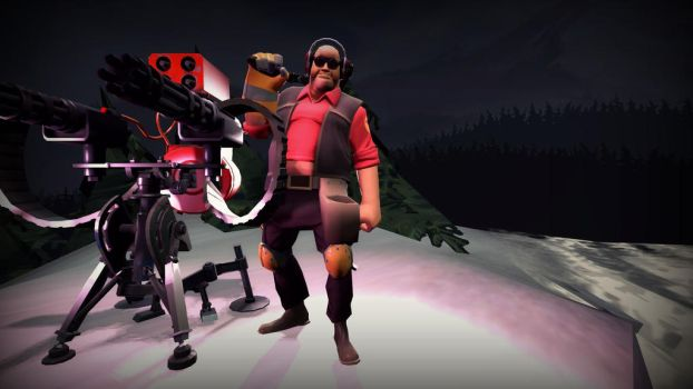 TF2 Engineer SFM by AeriolTF