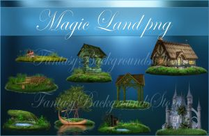 Magic Land png by moonchild-ljilja
