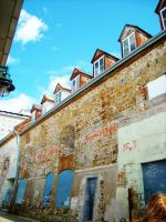 Blue In Your Back Alley View 2 by bluerosemoon1017