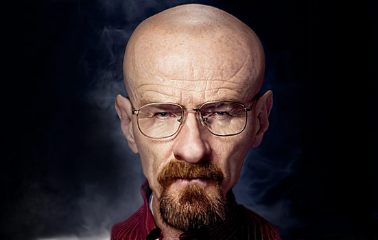 Walter White caricature by byztro