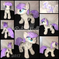 BronyCon '17 - MLP 10 inch Maud Pie Plushie by RubioWolf