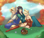 Afternoon Picnic by Musing-Zero