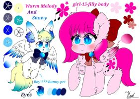 Main OC-Warm Melody by Warm-Melody