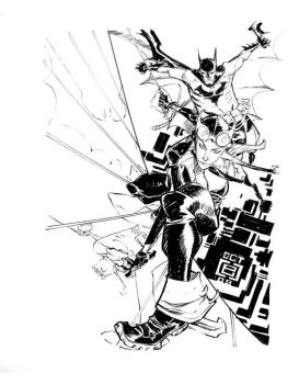 MS. KYLE and MR. WAYNE by EricCanete