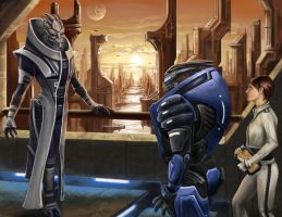 Andromeda - Appealing to the Primarch by efleck