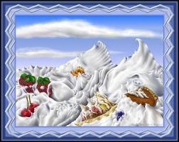 Whipped Cream Mountains by StephenL