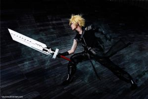 Cloud - AC EX-SOLDIER by vaxzone