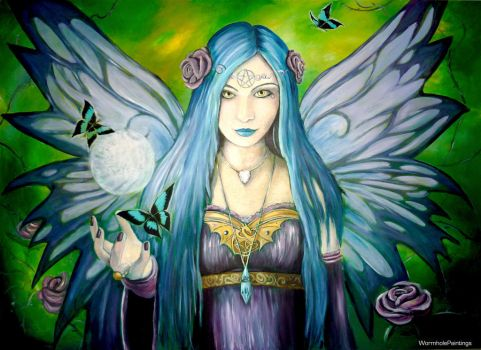 Mystic Aura -reproduction- by WormholePaintings