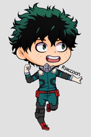 Deku chibi by Ryaccoon