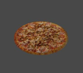 All Meat Pizza by rey-ann