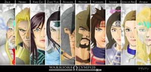 Warriors Olympus by DavienValentine