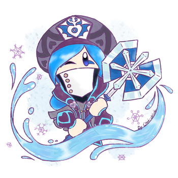 Kirby_Ice Cold Girl by Chivi-chivik