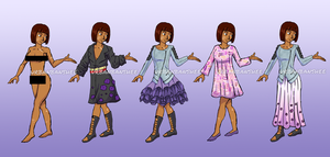 Florencia Clothing Set by forgotten-light