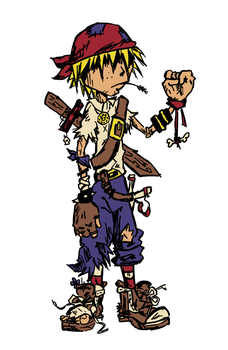 Pirate Guy Colored by PedTuron