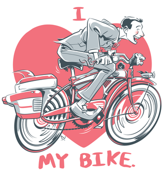I love my bike by abnormalbrain