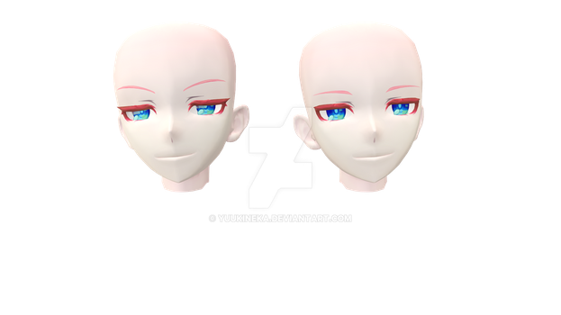 |MMD| Head Edit - 1 by YuukineKA