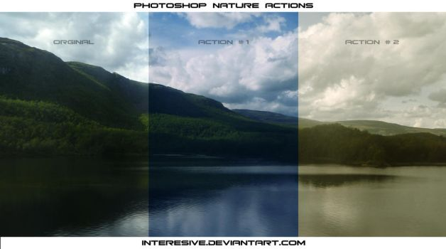 Photoshop Nature Action by interesive