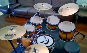New configuration of my Drum :D by EduardoGAP