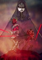 the sith by gaberoseart