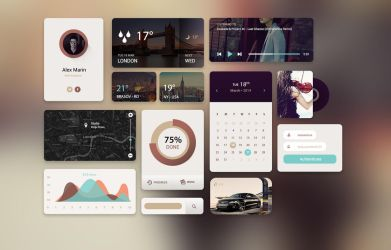 Web UI KIT by alexdesigns