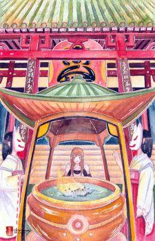 #Kivsjourney: At The Shinto by childheroes