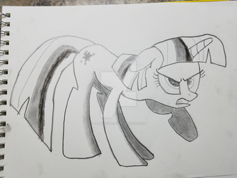 Twilight Sparkle by baneofEurope