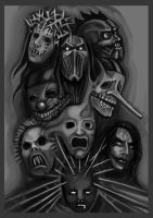 Slipknot band by FLeaSUN