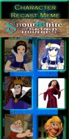 Snow White and The Seven Dwarfs Recast by RDJ1995