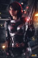 Shepard- Mass Effect by BelifyBel